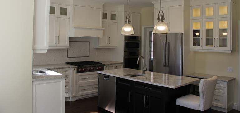 white kitchen cabinets mississauga white solid wood custom kitchen with ivory granite 28853