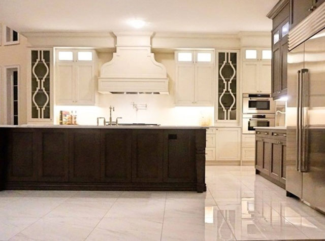 Custom Designed White Transitional Kitchen